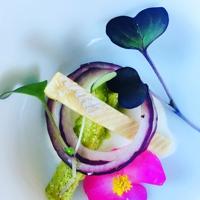 culinair vis voorgerechtje - Heppie Food